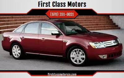 2008 Ford Taurus for sale at First Class Motors in Greeley CO