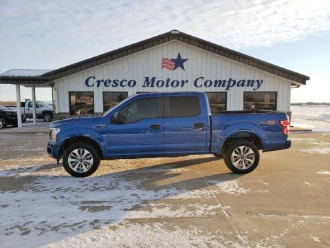 2018 Ford F-150 for sale at Cresco Motor Company in Cresco IA