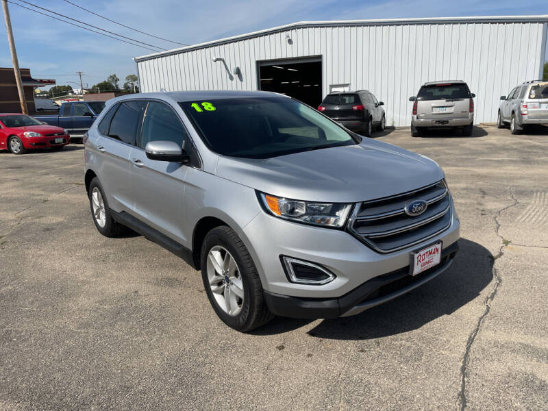 2018 Ford Edge for sale at ROTMAN MOTOR CO in Maquoketa IA