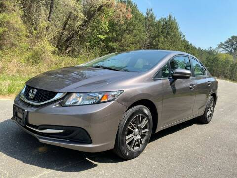 2014 Honda Civic for sale at Carrera AutoHaus Inc in Clayton NC