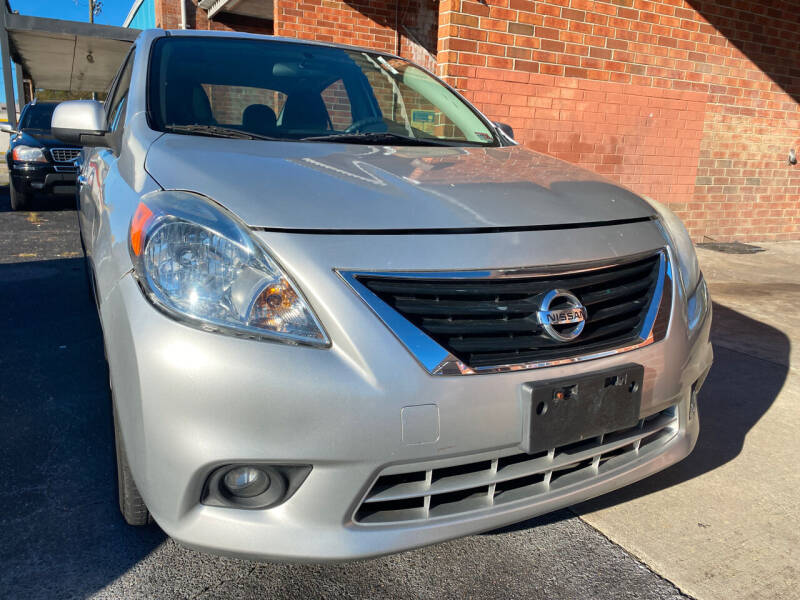 2012 Nissan Versa for sale at Aiden Motor Company in Portsmouth VA