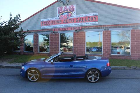 2017 Audi S5 for sale at EXECUTIVE AUTO GALLERY INC in Walnutport PA