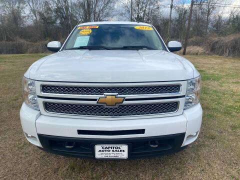 2012 Chevrolet Silverado 1500 for sale at CAPITOL AUTO SALES LLC in Baton Rouge LA