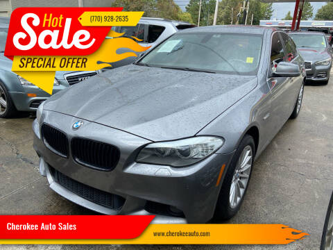 2011 BMW 5 Series for sale at Cherokee Auto Sales in Acworth GA