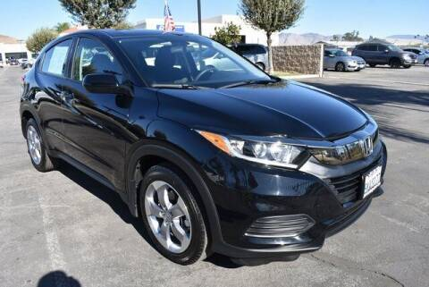 2019 Honda HR-V for sale at DIAMOND VALLEY HONDA in Hemet CA