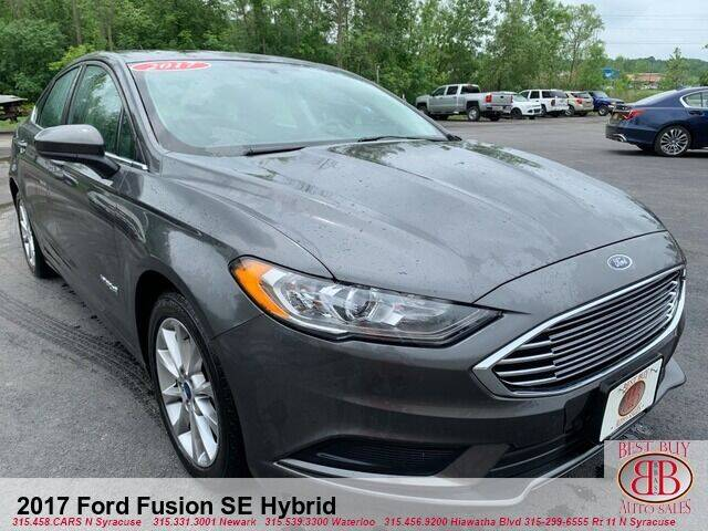 2017 Ford Fusion Hybrid for sale in Waterloo, NY