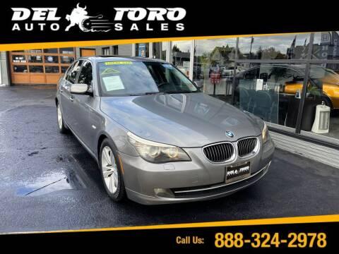 2009 BMW 5 Series for sale at DEL TORO AUTO SALES in Auburn WA