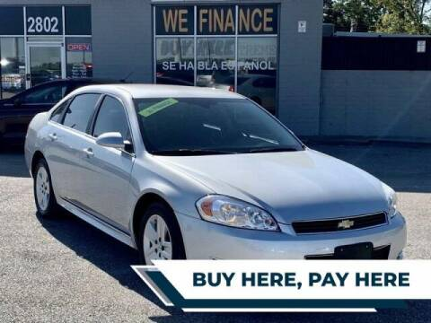 2010 Chevrolet Impala for sale at STANLEY FORD ANDREWS Buy Here Pay Here in Andrews TX