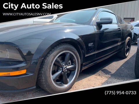 2006 Ford Mustang for sale at City Auto Sales in Sparks NV