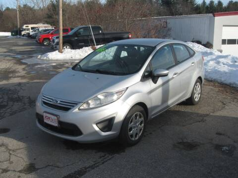 2012 Ford Fiesta for sale at Joks Auto Sales & SVC INC in Hudson NH