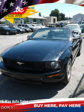2005 Ford Mustang for sale at 2 Way Auto Sales in Spokane Valley WA