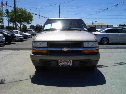 2001 Chevrolet S-10 for sale at Empire Auto Sales in Modesto CA