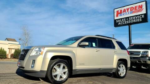 2011 GMC Terrain for sale at Hayden Cars in Coeur D Alene ID