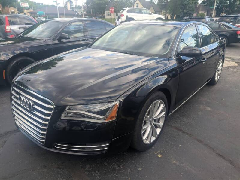 2012 Audi A8 for sale at CLASSIC MOTOR CARS in West Allis WI