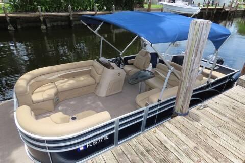 2016 Bennington 22SSLDX Pontoon Boat for sale at Silva Auto Sales in Pompano Beach FL