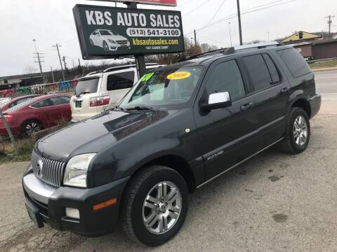 2009 Mercury Mountaineer for sale at KBS Auto Sales in Cincinnati OH
