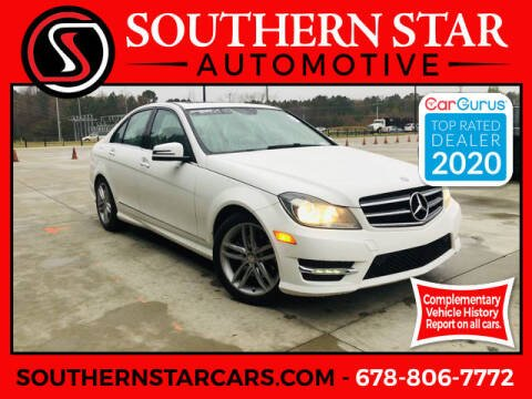 2014 Mercedes-Benz C-Class for sale at Southern Star Automotive, Inc. in Duluth GA