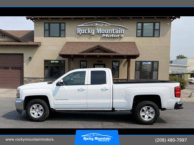 2018 Chevrolet Silverado 1500 for sale at Rocky Mountain Motors in Idaho Falls ID