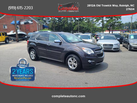 2013 Chevrolet Equinox for sale at Complete Auto Center , Inc in Raleigh NC