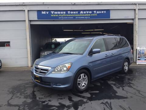 2006 Honda Odyssey for sale at My Three Sons Auto Sales in Sacramento CA