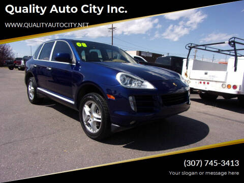 2008 Porsche Cayenne for sale at Quality Auto City Inc. in Laramie WY