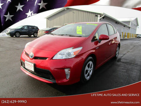 2012 Toyota Prius for sale at Lifetime Auto Sales and Service in West Bend WI