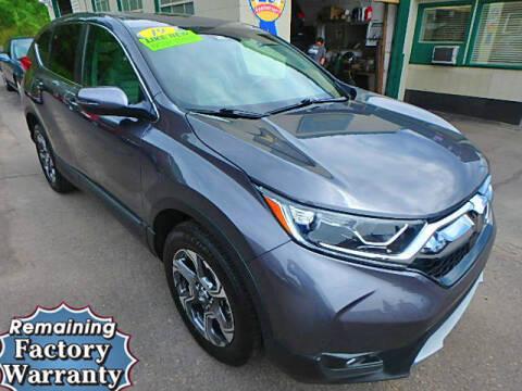 2019 Honda CR-V for sale at Jon's Auto in Marquette MI