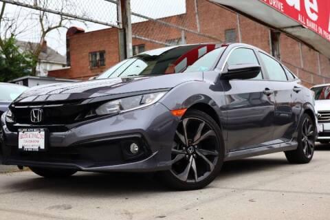 2019 Honda Civic for sale at HILLSIDE AUTO MALL INC in Jamaica NY