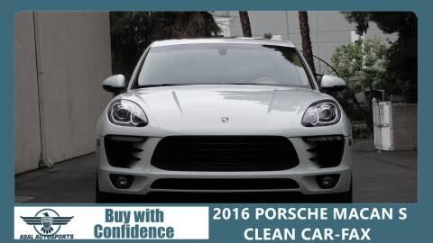 2016 Porsche Macan for sale at ASAL AUTOSPORTS in Corona CA