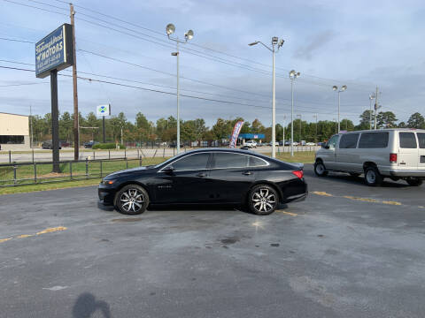 2017 Chevrolet Malibu for sale at Thoroughbred Motors LLC in Florence SC