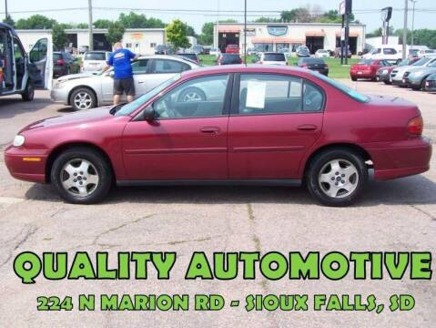 2005 Chevrolet Classic for sale at Quality Automotive in Sioux Falls SD