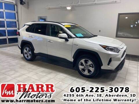 2020 Toyota RAV4 Hybrid for sale at Harr's Redfield Ford in Redfield SD