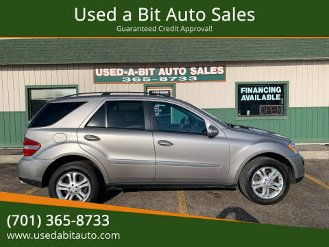 2006 Mercedes-Benz M-Class for sale at Used a Bit Auto Sales in Fargo ND