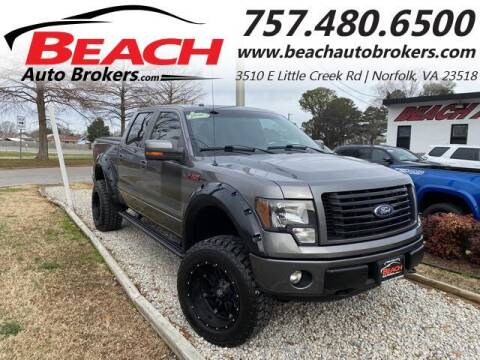 2012 Ford F-150 for sale at Beach Auto Brokers in Norfolk VA