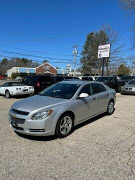 2012 Chevrolet Malibu for sale at NEWFOUND MOTORS INC in Seabrook NH