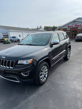 2015 Jeep Grand Cherokee for sale at DANSVILLE AUTO MART INC in Dansville NY