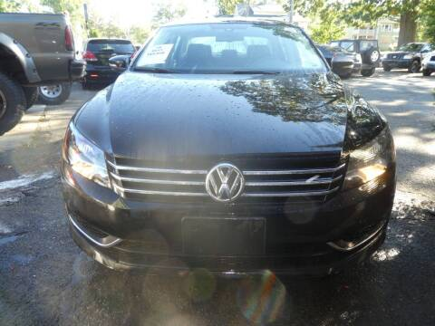 2013 Volkswagen Passat for sale at Wheels and Deals in Springfield MA