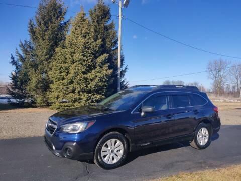 2018 Subaru Outback for sale at Carmart Auto Sales Inc in Schoolcraft MI