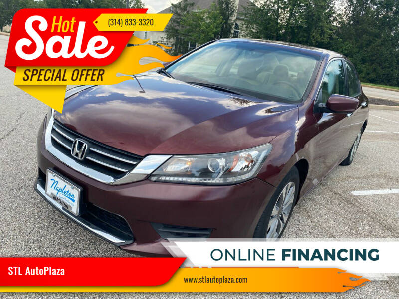 2014 Honda Accord for sale at STL AutoPlaza in Saint Louis MO