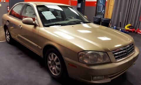 2002 Kia Optima for sale at D & J AUTO EXCHANGE in Columbus IN