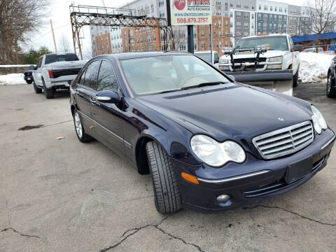 2007 Mercedes-Benz C-Class for sale at Mass Auto Exchange in Framingham MA