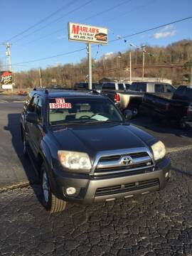 2007 Toyota 4Runner for sale at MARLAR AUTO MART SOUTH in Oneida TN