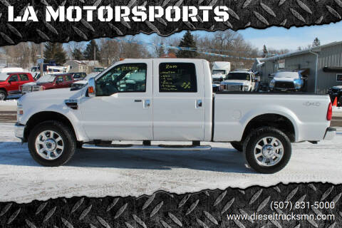 2010 Ford F-350 Super Duty for sale at LA MOTORSPORTS in Windom MN