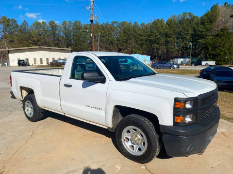 2014 Chevrolet Silverado 1500 for sale at Elite Motor Brokers in Austell GA