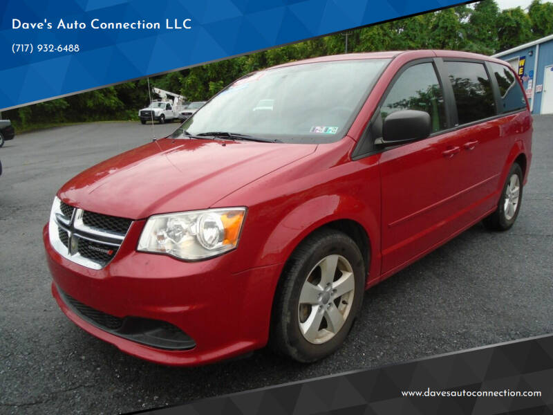 2013 Dodge Grand Caravan for sale at Dave's Auto Connection LLC in Etters PA