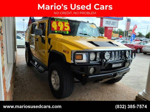 2003 HUMMER H2 for sale at Mario's Used Cars - South Houston Location in South Houston TX