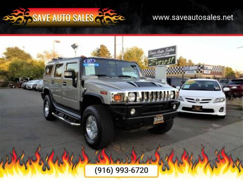 2007 HUMMER H2 for sale at Save Auto Sales in Sacramento CA