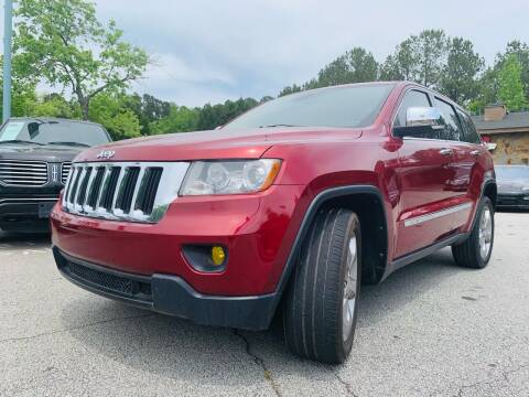 2013 Jeep Grand Cherokee for sale at Classic Luxury Motors in Buford GA