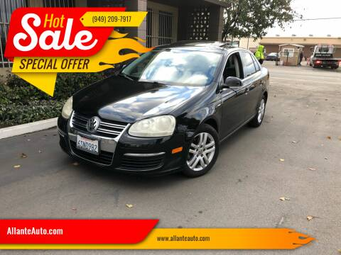 2007 Volkswagen Jetta for sale at AllanteAuto.com in Santa Ana CA