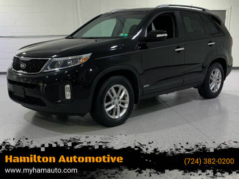 2015 Kia Sorento for sale at Hamilton Automotive in North Huntingdon PA